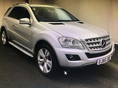 2010 60 MERCEDES-BENZ M CLASS 3.0 ML350 CDI BLUEEFFICIENCY SPORT 5d AUTO 231 BHP