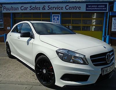 2013 13 MERCEDES-BENZ A CLASS 1.8 A200 CDI BLUEEFFICIENCY AMG SPORT 5d 136 BHP