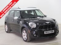 USED 2014 64 MINI COUNTRYMAN 1.6 COOPER 5d AUTO 122 BHP Service Pack 1 Owner, Full Mini Service History, Mini Service Pack, Parking Sensors, Air Conditioning, Bluetooth, USB/AUX. Free RAC Warranty and Free RAC Breakdown Cover