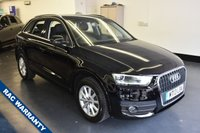 USED 2013 13 AUDI Q3 2.0 TDI SE 5d 138 BHP 1 PREVIOUS OWNER, FULL SERVICE HISTORY, GREAT SPEC