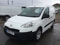 USED 2015 15 PEUGEOT PARTNER 1.6 HDI S L1 850 1 OWNER