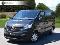 USED 2016 66 RENAULT TRAFIC 1.6 SL27 BUSINESS ENERGY DCI 1d 125 BHP 125BHP PLY LINED