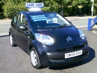 USED 2008 08 CITROEN C1 1.0 VIBE 3d 68 BHP CADE CARS LTD. Established for over 25 years.