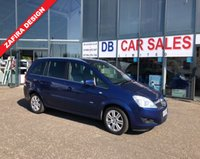 USED 2009 09 VAUXHALL ZAFIRA 1.9 DESIGN CDTI 5d 118 BHP NO DEPOSIT AVAILABLE, DRIVE AWAY TODAY!!