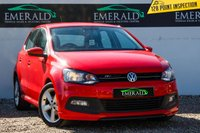 USED 2013 63 VOLKSWAGEN POLO 1.2 R-LINE STYLE 5d 69 BHP £0 DEPOSIT FINANCE AVAILABLE, AIR CONDITIONING, AUX INPUT, BLUETOOTH CONNECTIVITY, CLOTH UPHOLSTERY, DAB RADIO, DAYTIME RUNNING LIGHTS