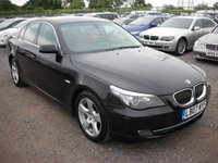 USED 2007 07 BMW 5 SERIES 3.0 525D SE 4d AUTO 195 BHP Leather - Automatic - Parking sensors