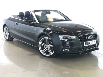 2014 AUDI A5 2.0 TDI S LINE SPECIAL EDITION 2d AUTO 175 BHP £16990.00