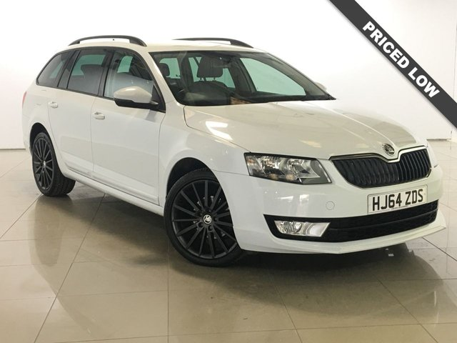 View our 2015 64 SKODA OCTAVIA 1.6 BLACK EDITION TDI CR 5d 104 BHP