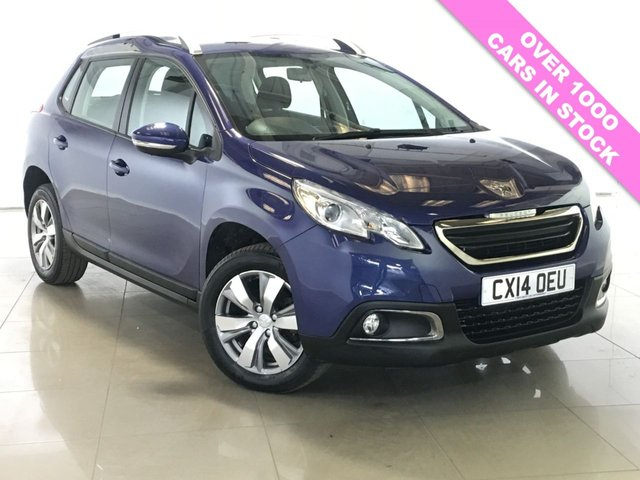 View our 2014 14 PEUGEOT 2008 1.6 E-HDI ACTIVE FAP 5d 92 BHP