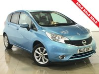 USED 2015 15 NISSAN NOTE 1.2 ACENTA DIG-S 5d 98 BHP 1 OWNER | AIR CON |