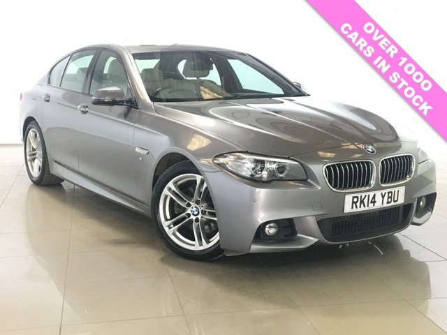 View our 2014 14 BMW 5 SERIES 2.0 520D M SPORT 4d 181 BHP