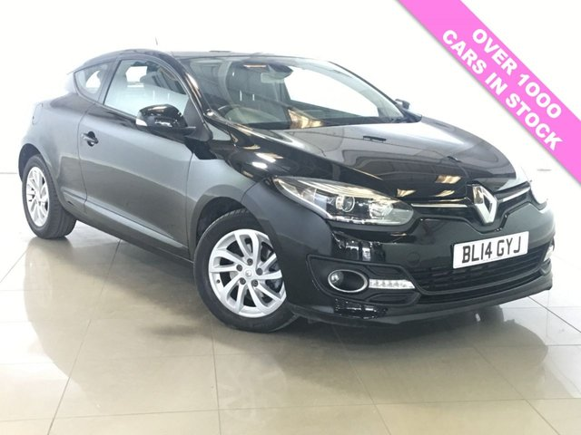 View our 2014 14 RENAULT MEGANE 1.5 DYNAMIQUE TOMTOM ENERGY DCI S/S 3d 110 BHP