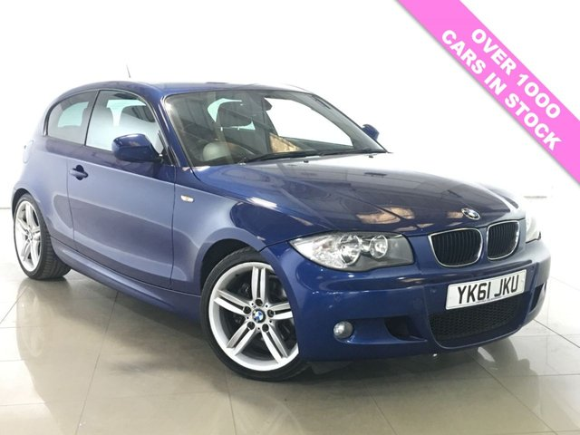 View our 2011 61 BMW 1 SERIES 2.0 120D M SPORT 3d AUTO 175 BHP