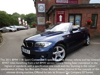 USED 2011 11 BMW 1 SERIES 2.0 118I SPORT 2d 141 BHP