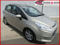 2013 FORD B-MAX 1.4 ZETEC 5dr **EXCELLENT CONDITION** £SOLD