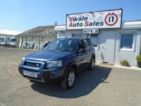 2006 LAND ROVER FREELANDER 2.0 TD4 ADVENTURER 110 BHP £3995.00