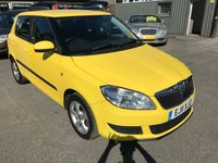 USED 2011 11 SKODA FABIA 1.2 SE TSI DSG 5 DOOR AUTOMATIC 103 BHP IN YELLOW WITH ONLY 52000 MILES APPROVED CARS ARTEC PLEASED TO OFFER THIS SKODA FABIA 1.2 SE TSI DSG 5 DOOR AUTOMATIC 103 BHP IN YELLOW WITH ONLY 52000 MILES IN IMMACULATE CONDITION INSIDE AND OUT WITH A FULLY AUTOMATIC GEARBOX,AIR CON,ALLOYS,ELECTRIC WINDOWS,POWER STEERING WITH A FULL SERVICE HISTORY AND ONLY ONE OWNER FROM NEW A GREAT LITTLE BRIGHT YELLOW SKODA AUTOMATIC.