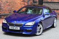 USED 2016 16 BMW 6 SERIES 3.0 640d M Sport Steptronic 2dr **NOW SOLD**