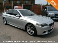 USED 2011 11 BMW 525d (3.0) M SPORT 8 SPD AUTO 4 DOOR UK DELIVERY* RAC APPROVED* FINANCE ARRANGED* PART EX