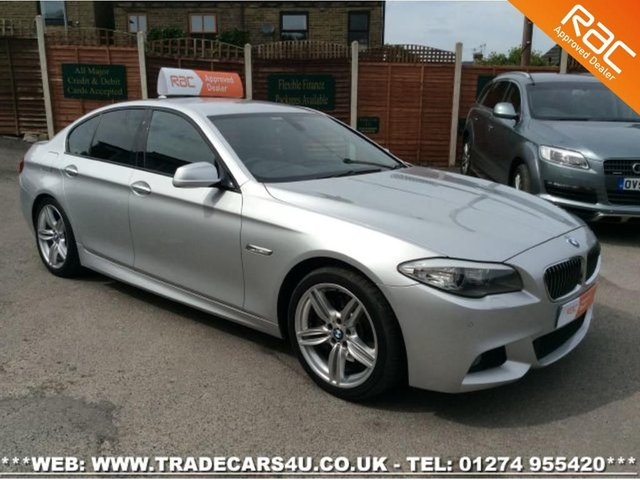 2011 11 BMW 525d (3.0) M SPORT 8 SPD AUTO 4 DOOR