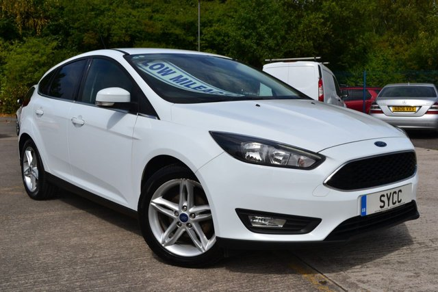"""USED 2014 64 FORD FOCUS 1.6 ZETEC TDCI 5d 114 BHP (New Shape) NEW SHAPE ~ £20 ROAD TAX ~ 17"""" ALLOYS ~ FORD SYNC"""