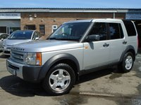 USED 2005 55 LAND ROVER DISCOVERY 2.7 3 TDV6 S 5d 188 BHP GREAT VALUE DISCOVERY 3 + NEW MOT