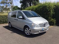 USED 2012 62 MERCEDES-BENZ VITO 2.1 116 CDI DUALINER LWB Air Conditioning, Bluetooth, Tow Pack