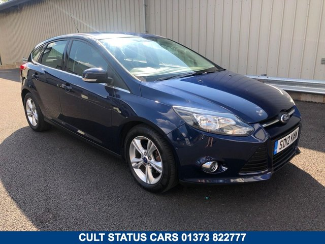 2012 12 FORD FOCUS 1.6 ZETEC 5 DOOR AUTOMATIC 124 BHP