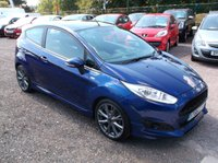USED 2016 66 FORD FIESTA 1.0 ST-LINE 3d 124 BHP **Economical  -  Great Spec - Service history - Excellent car -  Sat nav - Bluetooth - Drives superbly**
