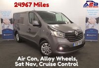 USED 2016 16 RENAULT TRAFIC 1.6 SL27 SPORT DCI 115 BHP Sat Nav, Alloy Wheels, Air Con, Low Mileage 24967 **Drive Away Today** Over The Phone Low Rate Finance Available, Just Call us on 01709 866668
