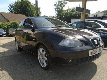 2005 SEAT IBIZA 1.4 SPORT 3d 74 BHP £1495.00