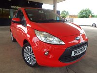 USED 2010 10 FORD KA 1.2 ZETEC 3d 69 BHP