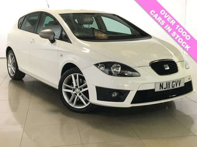 View our 2011 11 SEAT LEON 2.0 FR CR TDI 5d 168 BHP
