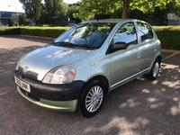 2001 TOYOTA YARIS 1.0 GS VVT-I 5d 64 BHP £1450.00
