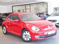 USED 2013 13 VOLKSWAGEN BEETLE 1.2 DESIGN TSI 3d 103 BHP +ONLY 22K MILES+FULL HISTORY+