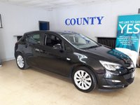 2013 VAUXHALL ASTRA 1.6 EXCLUSIV 5d 113 BHP £SOLD