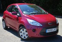USED 2009 59 FORD KA 1.2 STYLE 3d 69 BHP LOW MILEAGE