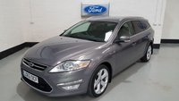 USED 2012 62 FORD MONDEO 2.0 TITANIUM TDCI 5d 138 BHP 1 Owner/ Ford History/ Appearance Pack/ 18 In Alloys