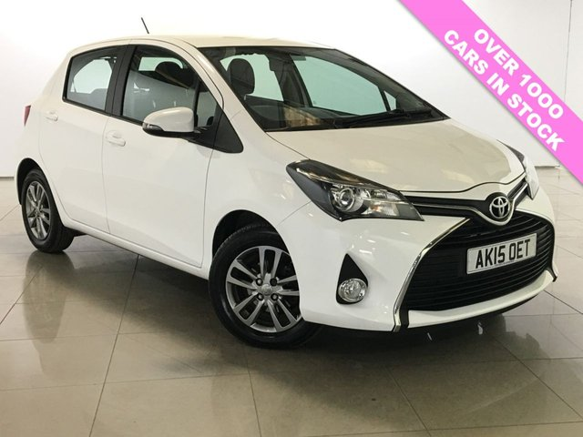 View our 2015 15 TOYOTA YARIS 1.3 VVT-I ICON 5d 99 BHP