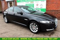 USED 2014 14 JAGUAR XF 2.2 D PREMIUM LUXURY 4d AUTO 200 BHP +Keyless Entry +Heated Leather