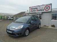2008 CITROEN C4 GRAND PICASSO 1.6 VTR PLUS HDI 110 BHP £3495.00