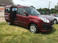 2012 FIAT DOBLO 1.6 MULTIJET MYLIFE mpv 7 SEATS LOW MILES RARE TO FIND THIS CLEAN  £7495.00