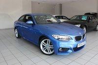 2014 BMW 2 SERIES 2.0 218D M SPORT 141 BHP 2d £13985.00