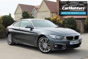 2015 BMW 4 SERIES 3.0 435D XDRIVE M SPORT 2d AUTO 309 BHP £20995.00