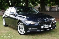 USED 2012 12 BMW 3 SERIES 320D LUXURY [185 BHP] 4 DOOR SALOON * ECO MODEL *