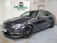 USED 2011 61 MERCEDES-BENZ C CLASS 6.3 C63 AMG Edition 125 7G-Tronic 4dr