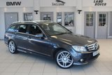 """USED 2010 59 MERCEDES-BENZ C CLASS 2.1 C200 CDI SPORT 5d 135 BHP HALF LEATHER/CLOTH SEATS + FULL SERVICE HISTORY + HEATED FRONT SEATS + BLUETOOTH + CRUISE CONTROL + AIR CON + 18"""" ALLOYS"""