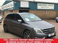 2012 MERCEDES-BENZ B CLASS 1.8 B180 CDI BLUEEFFICIENCY SPORT 5d 109 BHP Alloy Wheels Rear Parking Camera  £9495.00