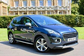 2015 PEUGEOT 3008 1.6 E-HDI ALLURE 5d AUTO 115 BHP £11900.00