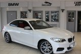 USED 2015 11 BMW 2 SERIES 3.0 M235I 2d 322 BHP CORAL RED LEATHER SEATS + FULL BMW SERVICE HISTORY + SAT NAV + BLUETOOTH + XENON HEADLIGHTS + HEATED FRONT SEATS + DAB RADIO + 18 INCH ALLOYS + REAR PARKING SENSORS + MANUFACTURERS WARRANTY UNTIL NOVEMBER 2018